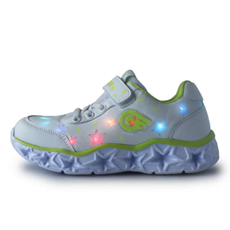 Wholesale comfortable good light shoes  kids led shoes
