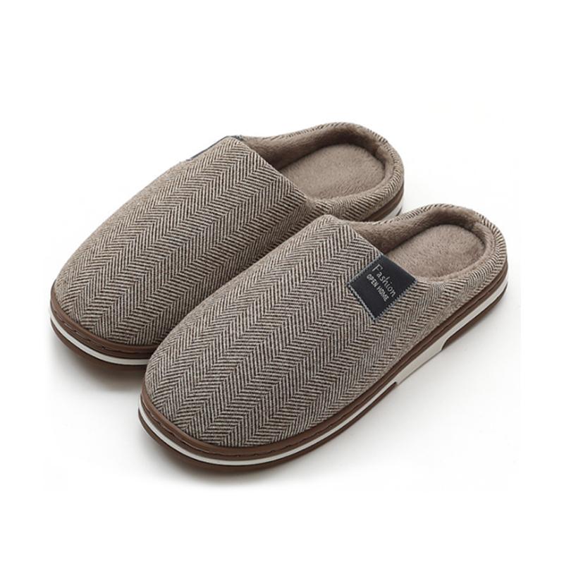 2020 Womens Fur Slippers Winter Shoes Big Size Home Slippers Plush Pantufa Women Indoor Warm faux fur Cotton Shoes