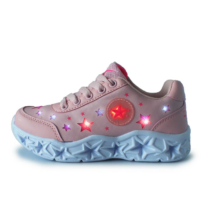 2021 New Design light up led shoes for kids light led kids