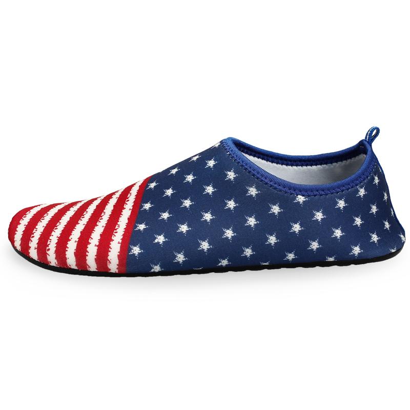 2018 Newest colorful soft shoes beach ballop aqua shoe swoodland shoes