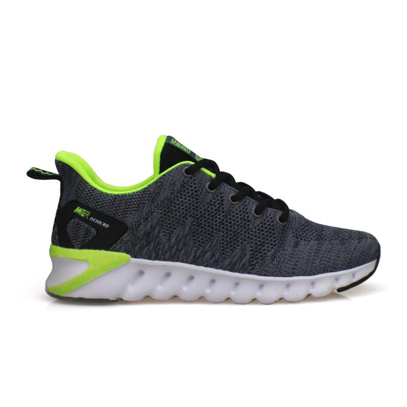 Wholesale cheap male sport shoes men casual knit  shoes