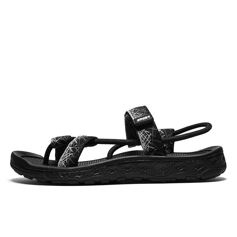 2018 new men's shoes summer sandals men's fashion flat sandals