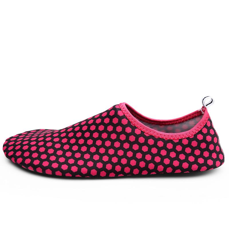 2018 Newest colorful rubber beach aqua shoes