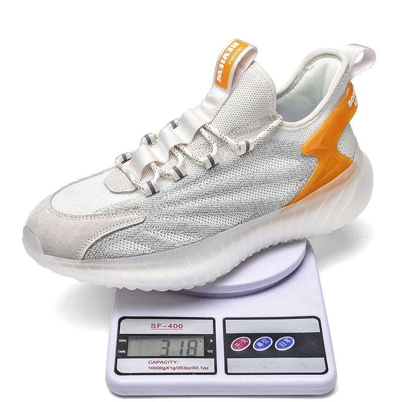 2021 Hot sale casual shoes cheap stylish men mesh shoes