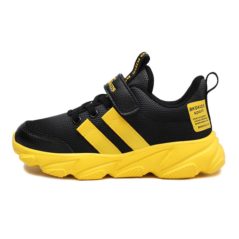 lightweight comfortable mesh upper kid sports shoes running children shoes